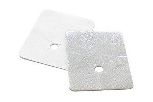 Espuma Absorvente para Proteção da Traqueostomia, Metalline L&R