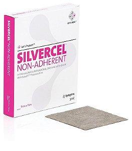 Curativo Antimicrobiano Não Aderente Hidroalginato com Prata, Silvercel, unidade