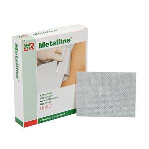 Compressa aluminizada, absorvente e não aderente, Metalline®