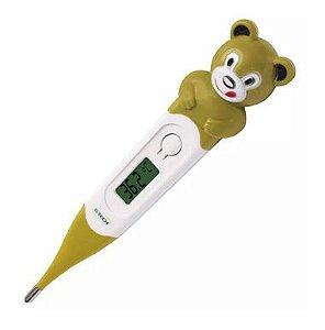 Termômetro Digital com Ponta Flexível Urso, G-Tech