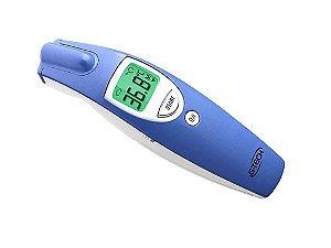 Termômetro Digital Clínico, infravermelho, p/ Testa sem contato, G-Tech