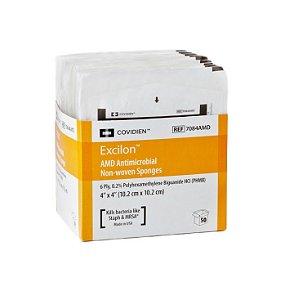 Curativo Excilon, Gaze Antimicrobiana c/ PHMB, c/ 02 unidades