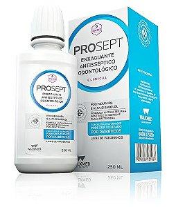 Enxaguante Bucal e Antisséptico sem Álcool PROSEPT c/ Polihexanida  250ml