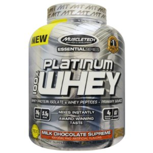 PLATINUM 100% WHEY - MUSCLETECH