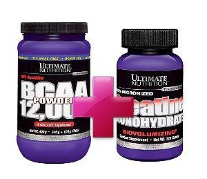 COMPRE 01 BCAA 12000  457g + 01 Creatine Monohydrate 300g