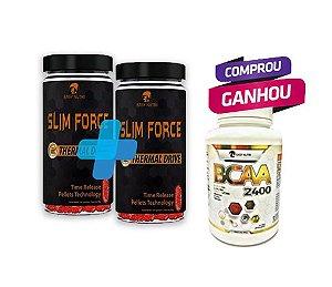 COMPRE 2 SLIM FORCE e GANHE 1 BCAA