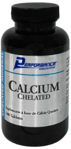 CALCIUM CHELATED - PERFORMANCE 100 TABLETS