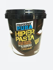 Hiper Pasta(Chocolate+Albumina) - Proteína Pura