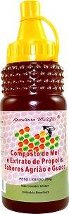 Composto de Mel Própolis Agrião e Guaco 280 g