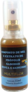 Spray Mel Própolis Gengibre e Menta 35 ml