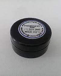 Coletor de Impressão Digital modelo 2546 Redondo superficie rigida microporosa Para 3500 coletas nítidas Tinta atóxica Fácil