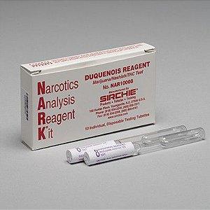 Reagente NARK Duquenois (maconha / haxixe / THC) SKU: NAR10008