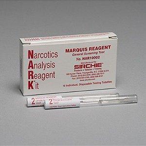 Reagente NARK Marquis (Alcaloides de ópio) SKU: NAR10002