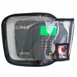 Capa para Relógio de Ponto Dimep Printpoint III Biometria E Barras.