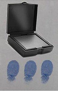 coletor de impressao digital na cor azul SKU: FS-BLU-2
