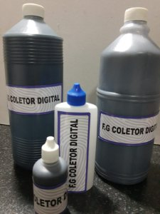 tinta pastosa atoxica para coleta das impressoes digitais a base de rolete com 40ml