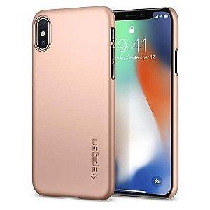 Capinha celular Iphone X Spigen case thin fit