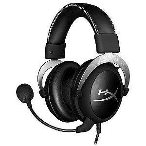 Headset Hyperx Cloudx Hx-Hs5Cx-Sr Com Microfone Removível - Preto/Prata