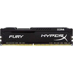 Memoria Ram Hyper-x Fury Ddr4 / 2400mhz / 16gb - Preto