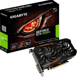 Placa de Video GeForce GTX 1050 ti 4GB Oc Windforce 2x Ddr5