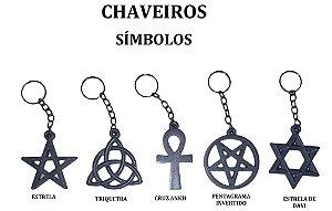 5 Chaveiro símbolos