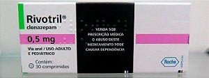 3 CAIXAS- RIVOTRIL 0,5