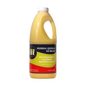 Lava Carros - Detergente Líquido Mundclean - 2 L