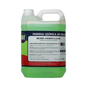 Sabonete Líquido Bactericida -  Mund Handclean - 5 L