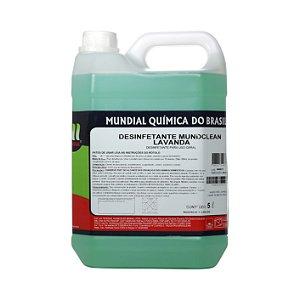 Desinfetante Mundclean Lavanda - 5 L