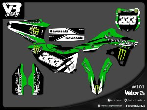 KIT GRÁFICO KX / KXF - 07