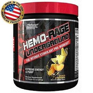 Hemo Rage Black  (243g) - UNDERGROUD  - Nutrex