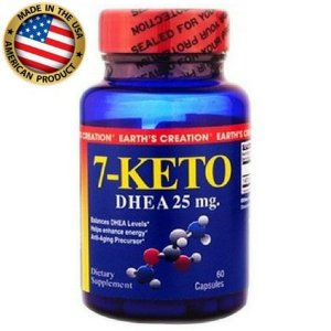 7-Keto DHEA - (60caps) - Earth's Creation