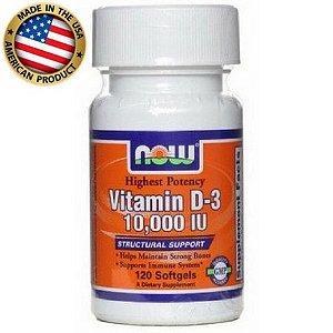 Vitamina D3 - Now Sports