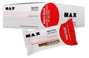 Barra de Proteína Max Bar - Max Titanium
