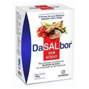 DaSALbor - Sal sem sódio (100g) - Sanibras - Power Supplements