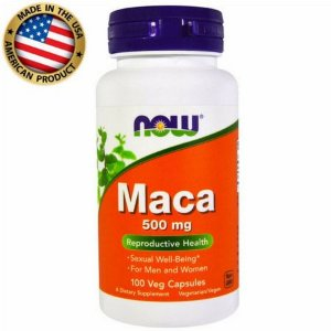 Maca Peruana - 500mg - (100caps) - Now Sports