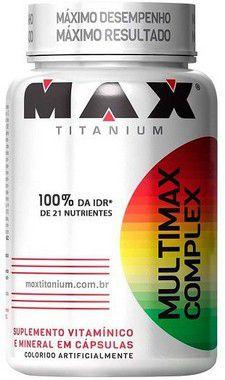 Multimax Complex - (90 caps) - Max Titanium