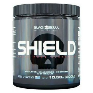 Shield Glutamine - Black Skull