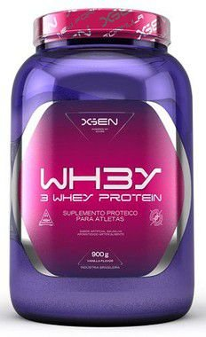 WH3Y 3 Whey Protein (900g) + Kreat Creatina Monohydrate - (300g) - XGEN Nutrition