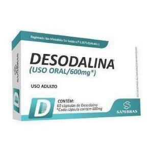 Desodalina - (60 Caps) - Sanibras