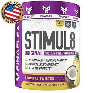 Stimul 8 - (40 Doses) - Pré treino - Importado - Finaflex