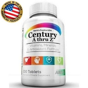 Multivitamínico Century A-Z - Earth´s Creation USA