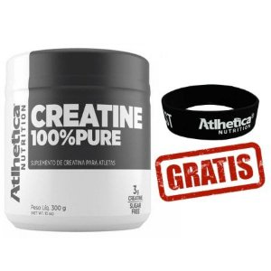 Creatina 100% Pure - (300g) - Pro Series - Atlhetica Nutrition