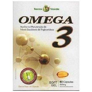 Ômega 3 - (60 caps) - Terra Verde