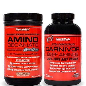 Combo Carnivor Musclemeds - Recuperação Muscular PRO