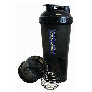 Coqueteleira Shaker 4 Compartimentos Com Mola - Probiótica