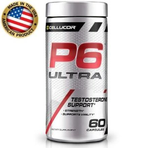 P6 Ultra - (60 Caps) - Testo Complex - Cellucor