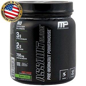 Assault Black - (348g) - Pré Treino Importado - Muscle Pharm