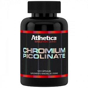 Picolinato de Cromo (120 caps) - Atlhetica Nutrition