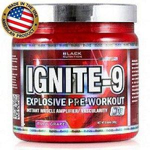 Ignite 9 - (45 doses) - Pré treino - Black Nutrition